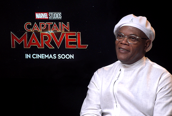 Samuel L. Jackson, Captain Marvel