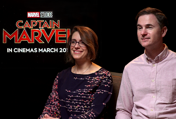 Anna Boden, Ryan Fleck, Captain Marvel