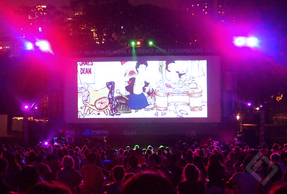ENCORE movie and after party, Fort Canning Park