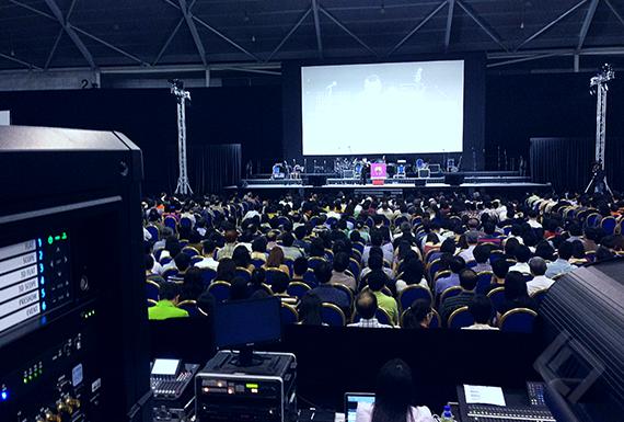 Church Event, Singapore Expo