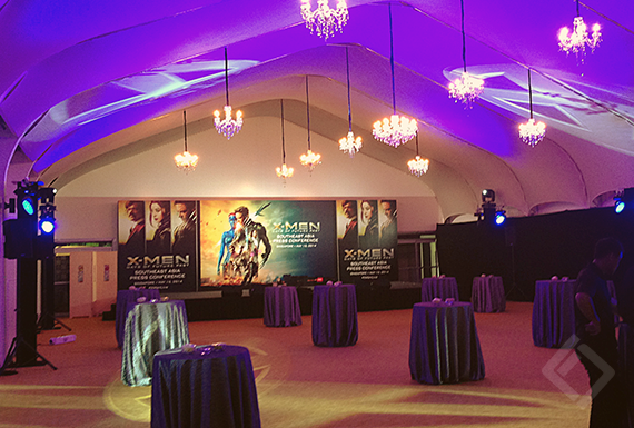 X-Men Days of Future Past, VIP night at Ritz Calton Singapore