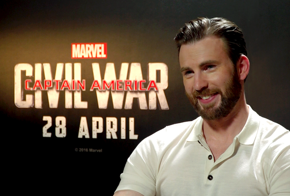 Chris Evans, Captain America Civil War