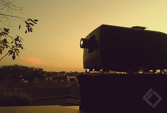 DCP Projector, Outdoor Screening