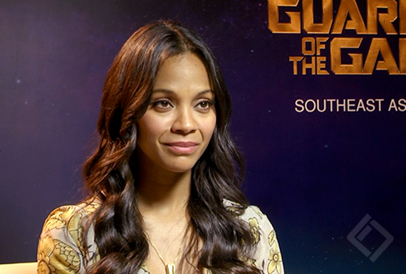 Zoe Saldana, Guardians of the Galaxy