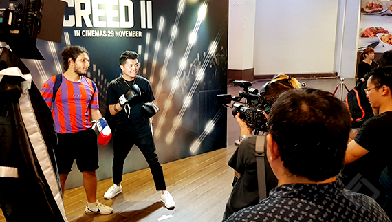 Warner Bros Singapore, Creed 2 Vox Pop
