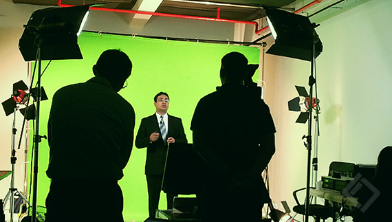 Intercall Singapore, Green Screen Production