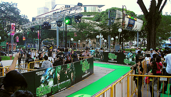 The Green Hornet, Green Carpet Event