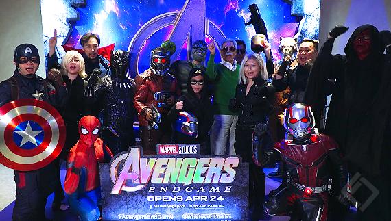Shaw Jewel IMAX Avengers Endgame Vox