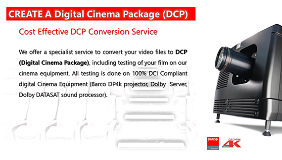 Video Content, DCP Conversion